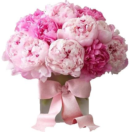 Открытки с цветами пионами