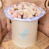 Пионовидные крупные кустовые розы «Бомбастик»