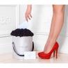 Черные розы в коробке от Bella Fiori