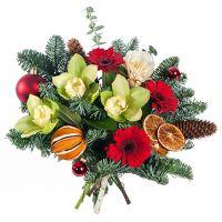Букет «Новогодний вальс»