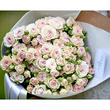 Розовый маникюр ногтей розовым лаком 49