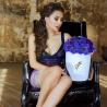 Фиолетовые анемоны в коробке Royal