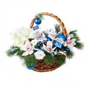 Новогодняя корзина «Зимний ветерок»