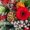 Новогодний букет «Рябина»