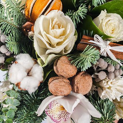Букет «Новогоднее признание»