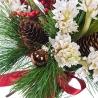 Новогодний букет «Ягоды на снегу»