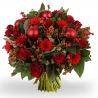 Новогодний букет «Пламенное сердце»