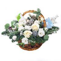 Новогодняя корзина «Дуновение ветра»