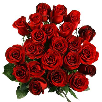 25 огромных роз 200 см