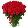 Огромный букет из 101 розы 150 см