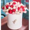Ассорти из тюльпанов в коробке Royal