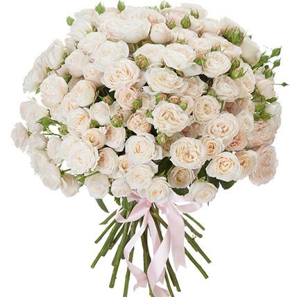 Букет из пионовидных роз «Герцогиня»