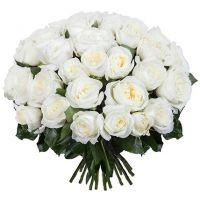 Букет из 49 роз «Alabaster»