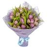 Букет «25 сиреневых тюльпанов»