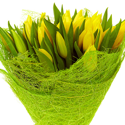 Букет «25 желтых тюльпанов»