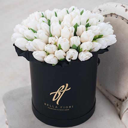 Коробка с тюльпанами №3