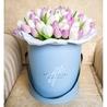 Коробка с тюльпанами №8
