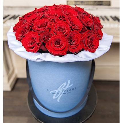 Коробка с розами №1