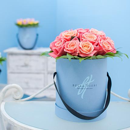 Коробка с розами №4