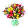 Букет из 51 тюльпана «Все краски весны»