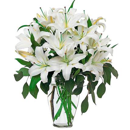 Букет лилий «Освежающий»