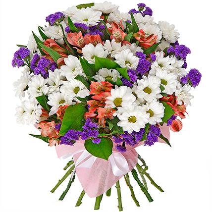 Букет хризантем «Шарлотта»