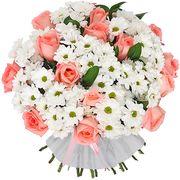 Букет хризантем «Летний полдень»