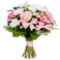 Букет хризантем «Вечно молодой»