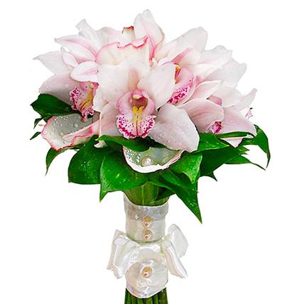 Букет с орхидеями №53