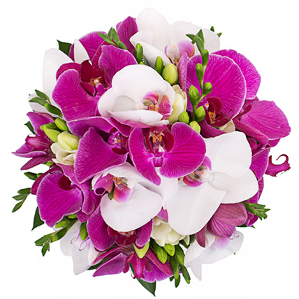 Букет с орхидеями «Фаленопсис» №61