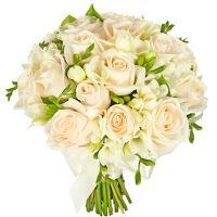 Букет из фрезии и роз №99