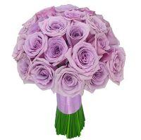 Букет из фиолетовых роз №108