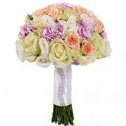 Букет из роз и гвоздик №109