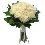 Букет из белых роз №121