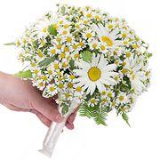 Свадебный букет невесты из ромашек №133