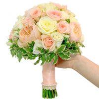 Букет с пионовидными розами №148