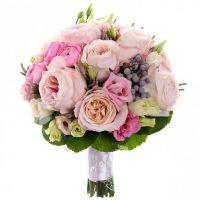 Букет с пионовидными розами №149