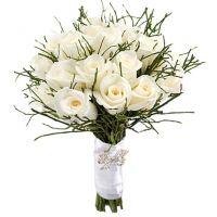 Букет из белых роз №171