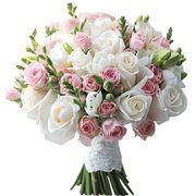 Букет из роз и фрезий №173