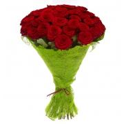 51 красная роза «Гран-при»