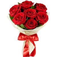Букет красных роз «Загадка»