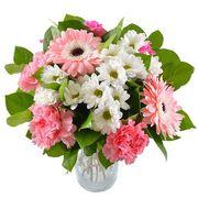 Букет гербами и хризантемами «Моей единственной»