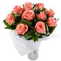 Букет коралловыми розами «Мексика»