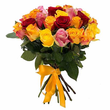 25 роз МИКС (40 см)