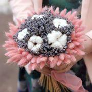 Букет с сухоцветами №8