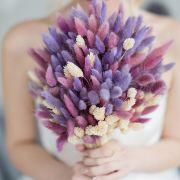 Букет с сухоцветами в нежных тонах №23
