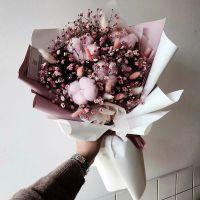 Букет с сухоцветами №54