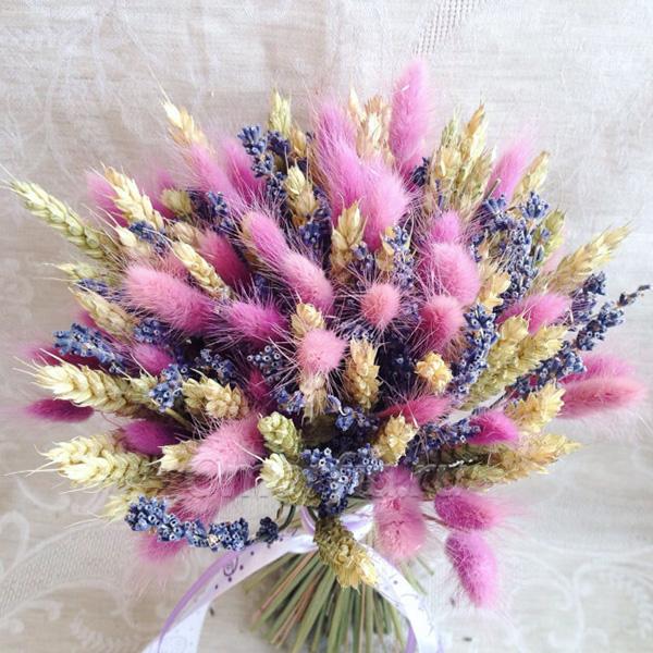Букет с сухоцветами №63