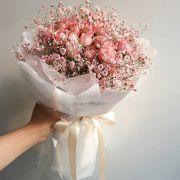 Букет с сухоцветами №71