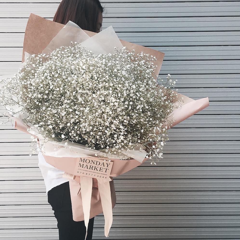 Букет с сухоцветами №73